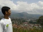 View lembang dari bukit batu 1200an MDPL