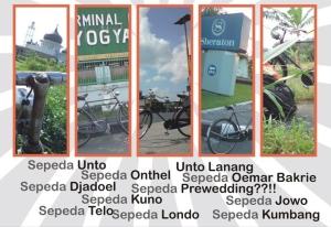perjalanan sepeda di Jogja